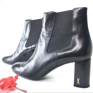YSL Loulou Leather Ankle Boot